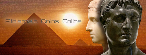 Ptolemaic Coins Online banner