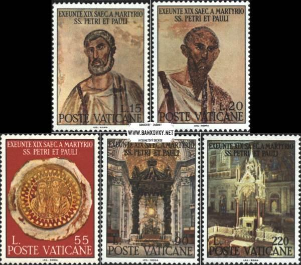 Známky Vatikán 1967 Mučedníci
