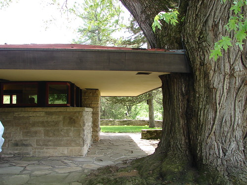 Tight Fit at the Fellowship Complex at Taliesin, Wisconsin