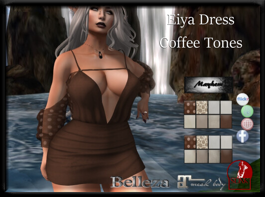 Mayhem Eiya Dress Coffee AD - TeleportHub.com Live!