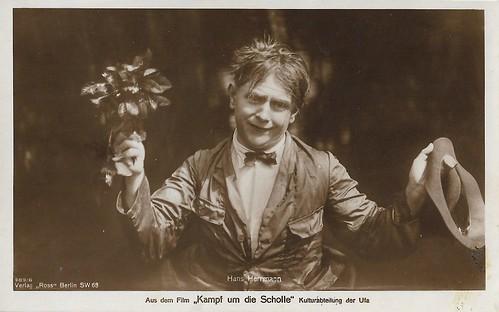 Hans Hermann (Schaufuss) in Kampf um die Scholle (1925)