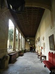 Iglesia Convento de San Vicente Ferrer claustro Parador de Plasencia Caceres 01