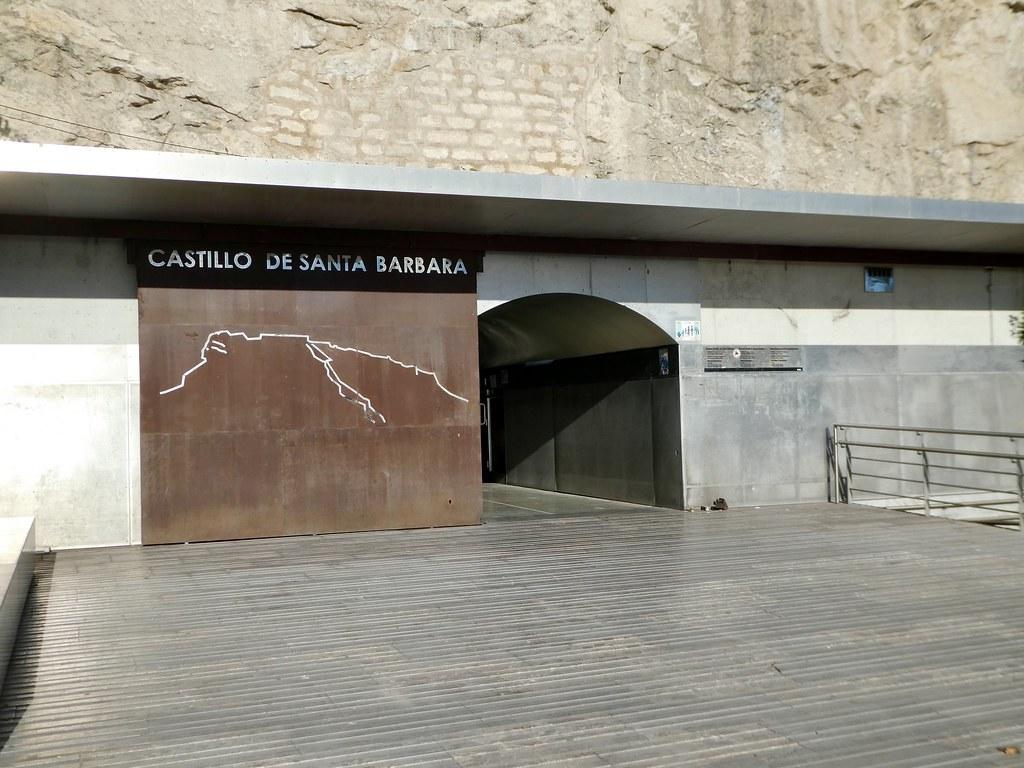Entrance tunnel to the Castillo de Santa Barbara, Alicante