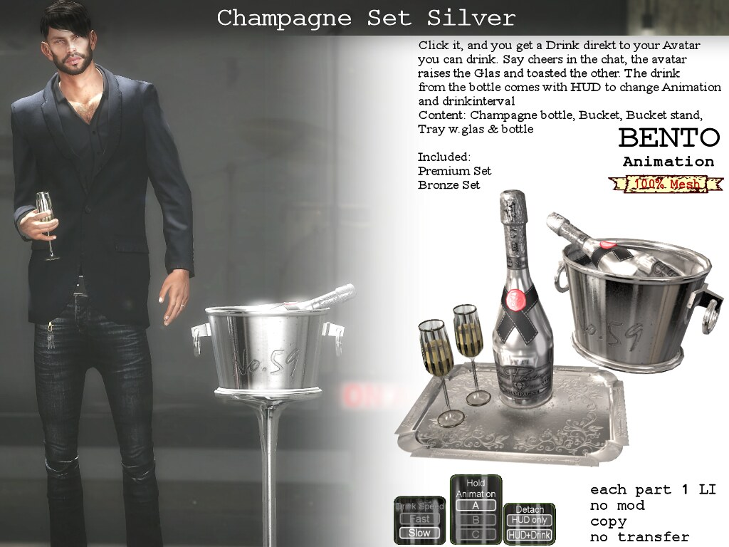 Champagne Silver - TeleportHub.com Live!