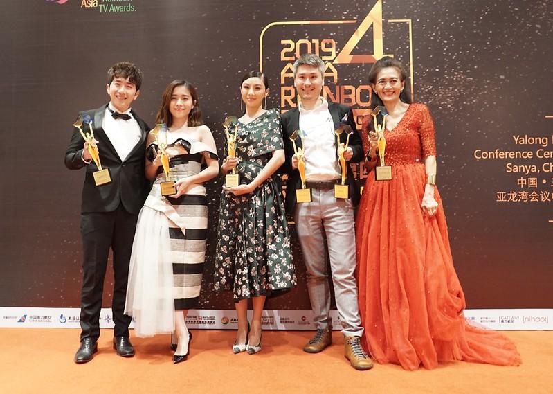 Kategori Drama - Gary Yap, Emily Chan, Wayne Cai, Moo Siew Keh dan Louisa Chong
