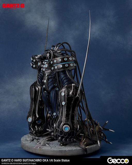 Gecco 《殺戮都市GANTZ:O》「岡八郎強化戰鬥服版本」 1/6比例尺寸雕像作品! GANTZ:O ハードスーツ / 岡八郎 1/6スケール スタチュー