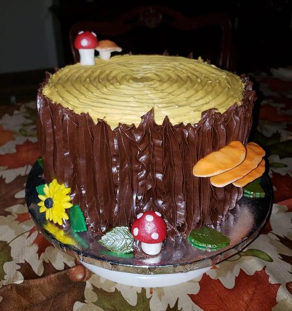 Cake by Teri Dove Kniceley of Teri's Cakes