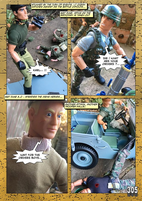 BAM2272 Presents - An Old Face Returns! Chapter Eighteen - The Munrovians Prepare their defences - Part Two 31909614378_17a11da971_c