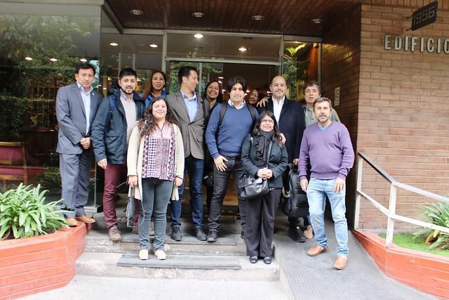 ANEF y ANFUCHID acompañan a funcionarios IND reintegrados (12-11-2018)