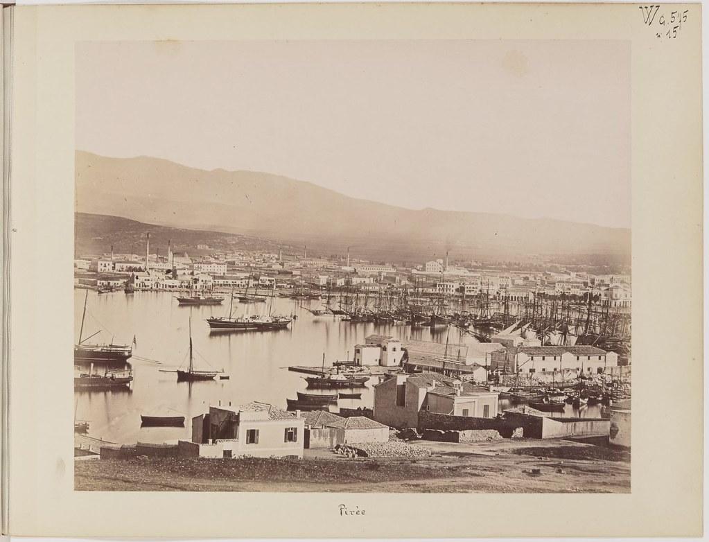 Альбом из 21 фото. из Афин и Пирея в 1880 году, подарок доктора Фювьера-22