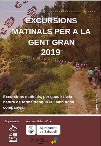 Excursions matinals per a la Gent Gran 2019