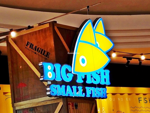 Big Fish Small Fish Signage