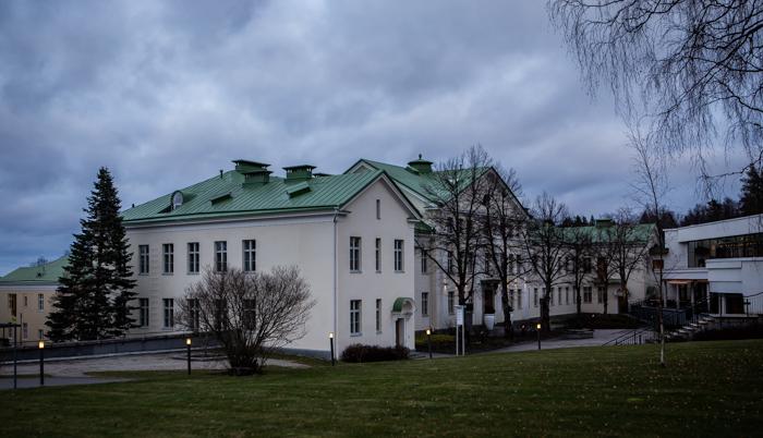 Saimaan Kylpylä Imatra castle hotelli_