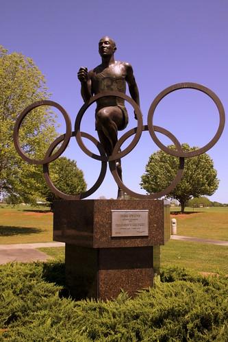 Jesse Owens Olympic Champion Statue