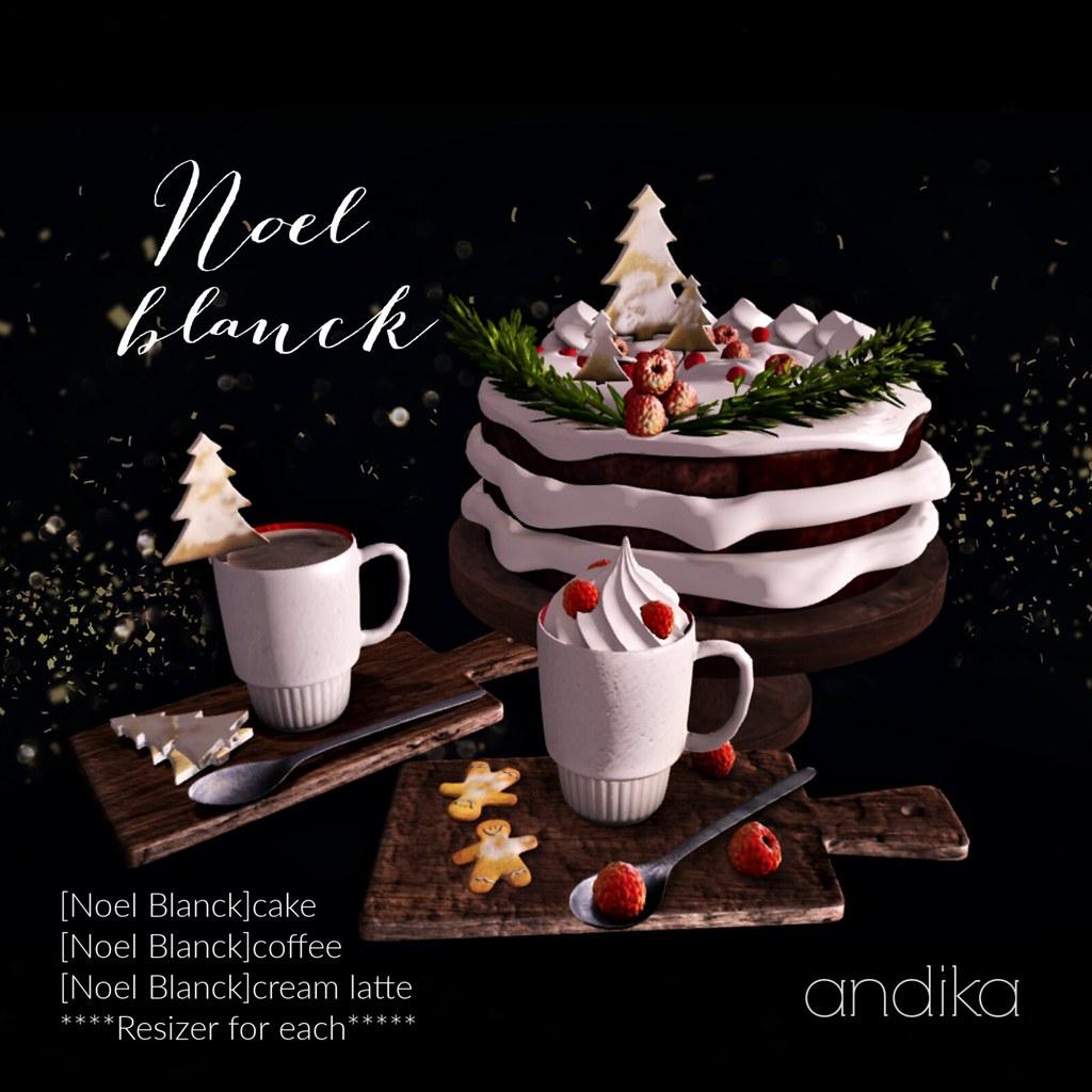 andika[Noel Blanck]cake set-AD