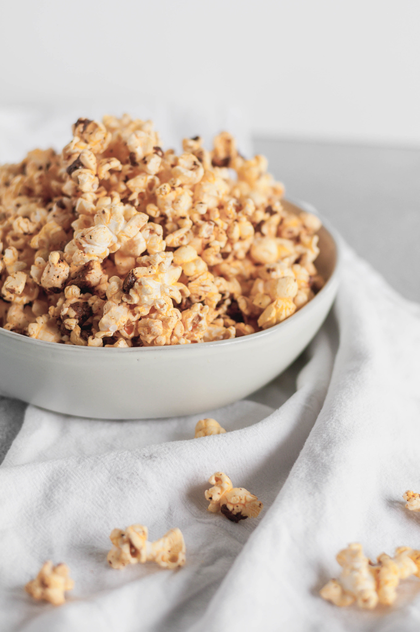 BBQ Spiced Popcorn is sweet and spicy and utterly addicting. Great for game day, parties or gifting your friends and neighbors.