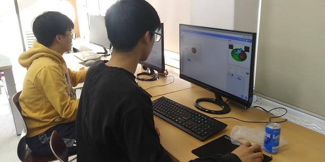 화북중학교 컴퓨터교실