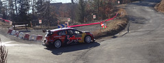 Ogier at Basse Correo Stage on Monte-Carlo Rally (7)