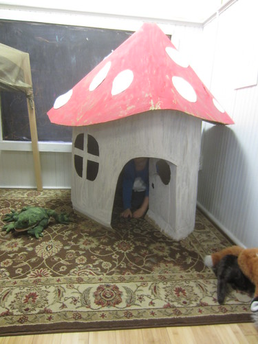 in the fairy house
