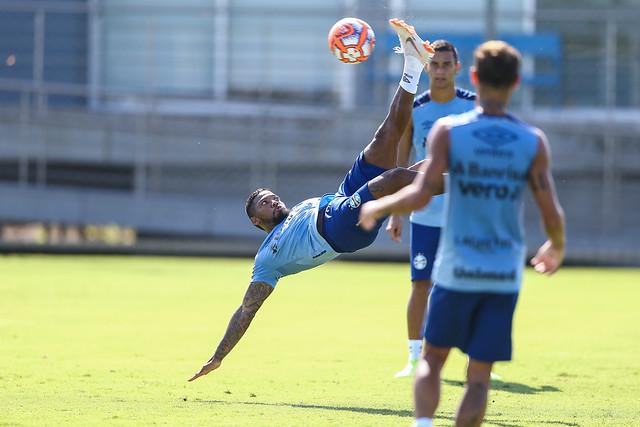 Treino Grêmio 26/01/19