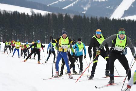 Třetí díl SkiTour rozjel Orlické hory, 35. ročník Orlického maratonu měl překvapivé vítěze