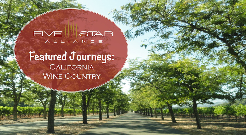 Featured Journeys: California Wine Country