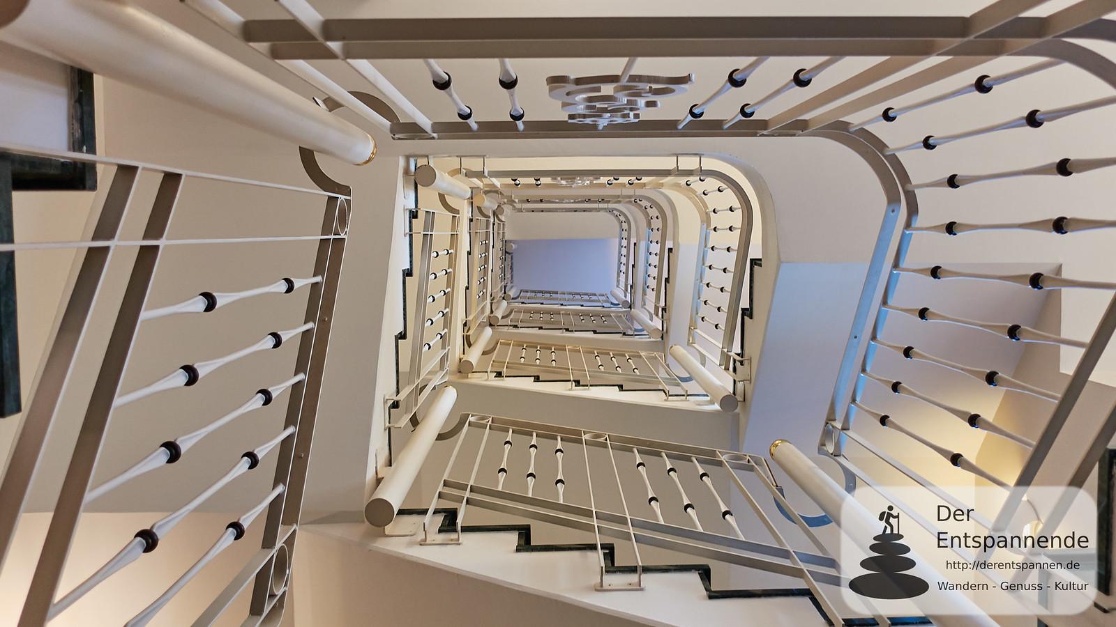 Treppenhaus im Hotel Erbprinz Ettlingen