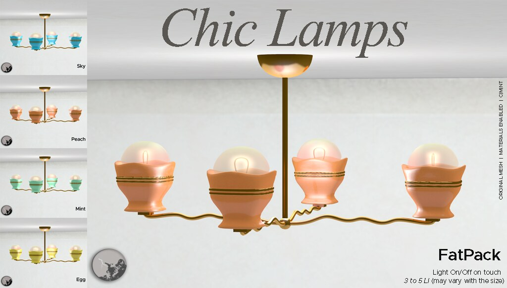 *PC* Chic Lamps @ The Boardwalk Event