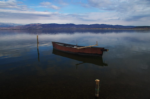 boat lake water