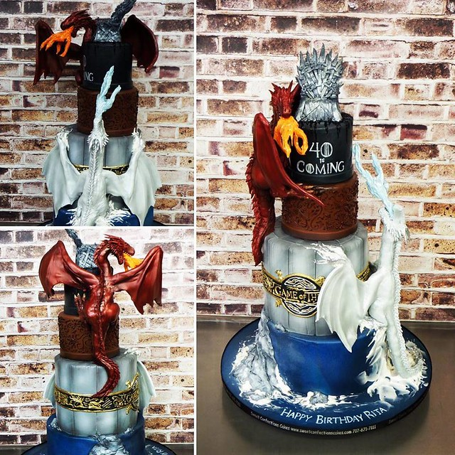Game of Thrones by Sweet Confections Cakes