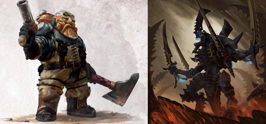 [Crazy Orc, 08.12.18] Tyranides vs Squats (4000pts) 44427392450_f4eacc3bc2_b