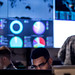 Cyber warfare operators assigned to the 275th Cyber Operations Squadron of the 175th Cyberspace Operations Group of the Maryland Air National Guard configure a threat intelligence feed for daily watch in the Hunter's Den at Warfield Air National Guard Base, Middle River, Md., Dec. 2, 2017. (U.S. Air Force photo by J.M. Eddins Jr.)