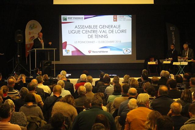 Assemblée Générale Ligue du Centre Val de Loire de Tennis 2018