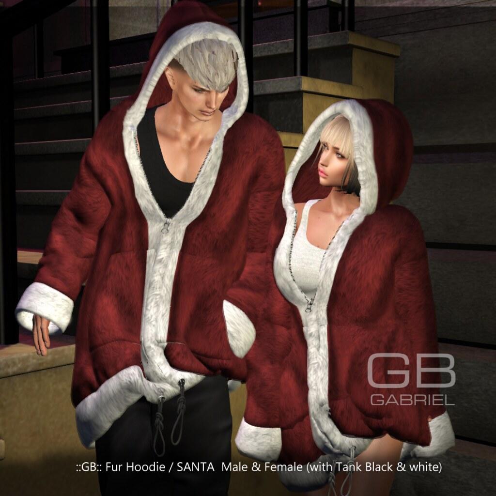 GABRIEL_Fur Hoodie/Santa MadPea Christmas Hunt Premium Prize