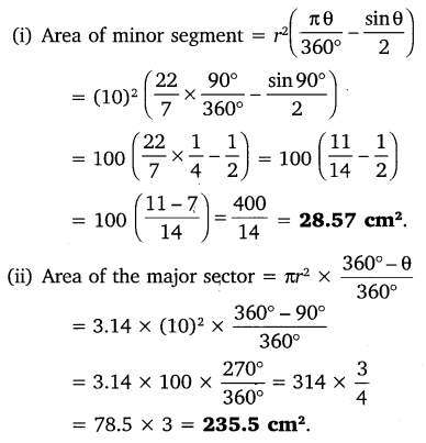 NCERT Solutions for Class 10 Maths Chapter 12 Areas Related to Circles 9