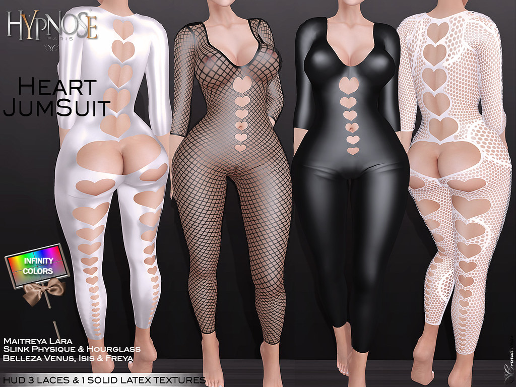 HYPNOSE - HEART JUMPSUIT - TeleportHub.com Live!