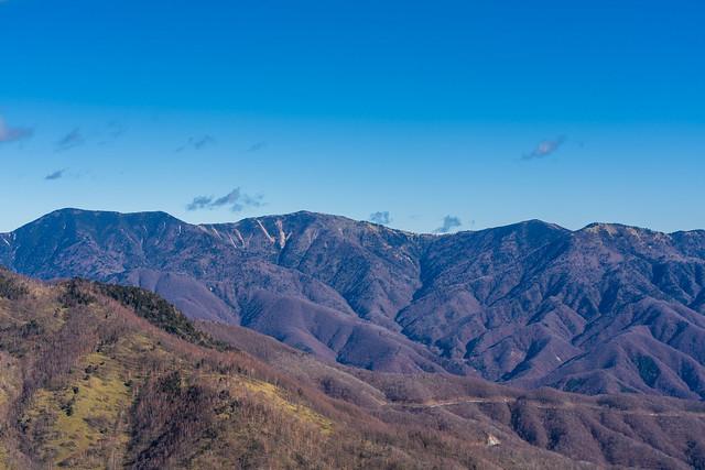 破風山、彼坂嶺、水晶山、古礼山
