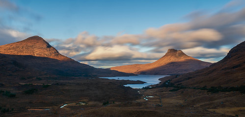 Loch Lurgainn and Stac Pollaidh