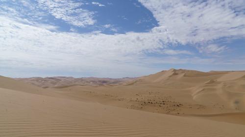 Badain Jaran desert - trekking day 4