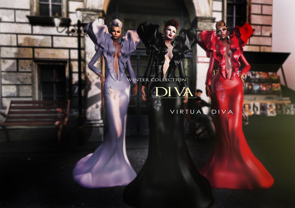 Virtual Diva Couture  Gown