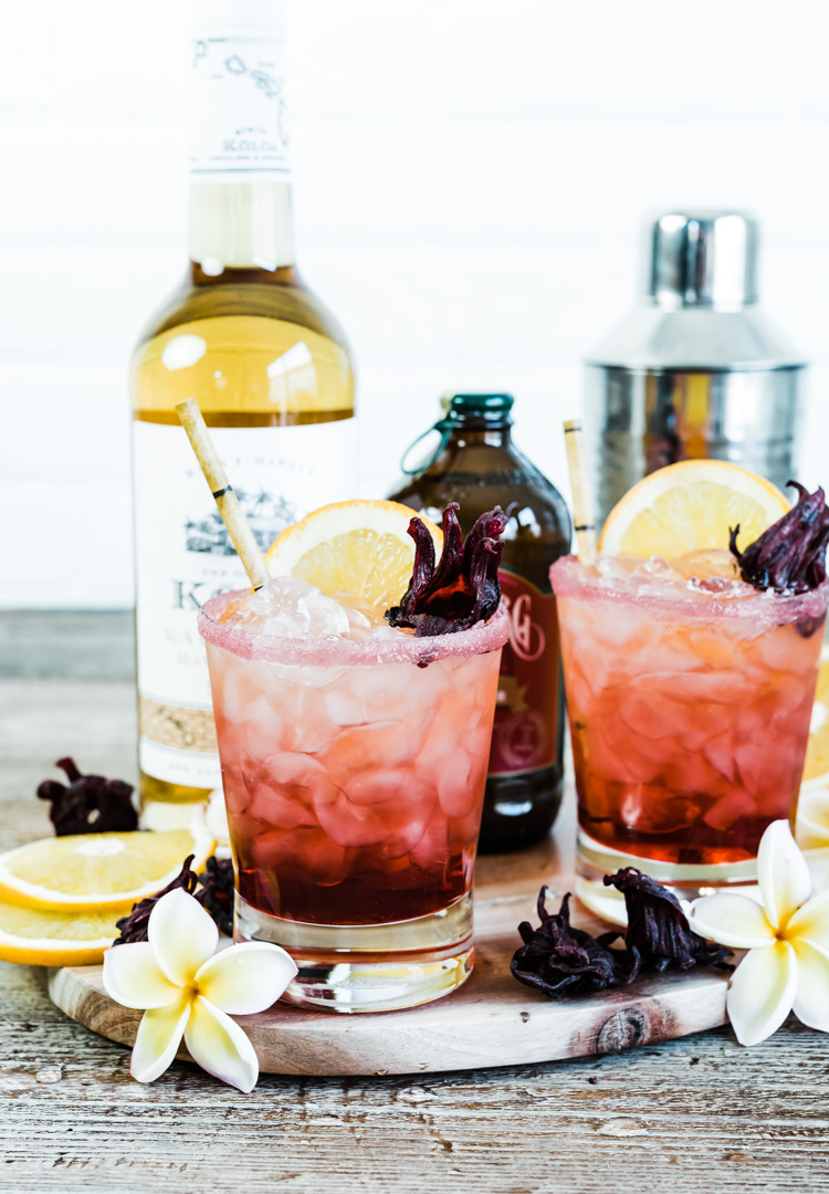 Spiced Hibiscus Cocktail www.pineappleandcoconut.com