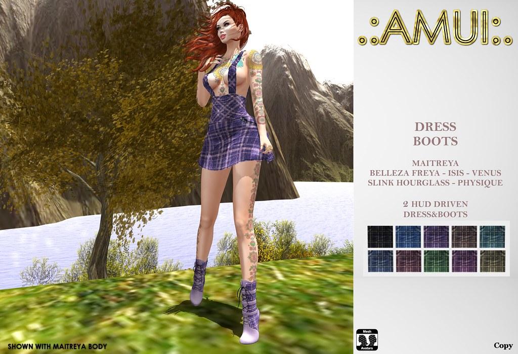 ".:AMUI:. ""Celia"" Dress&Boots"
