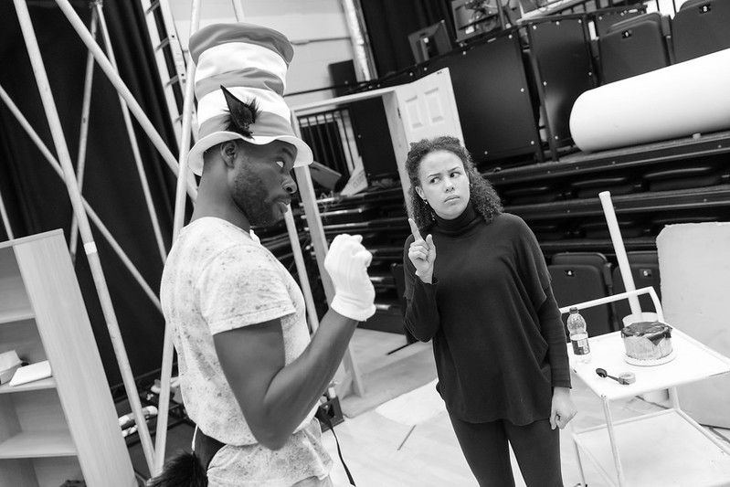 The Cat In The Hat - Rehearsal Images