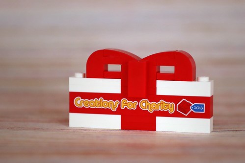 Creations for Charity 2018 thank-you gift