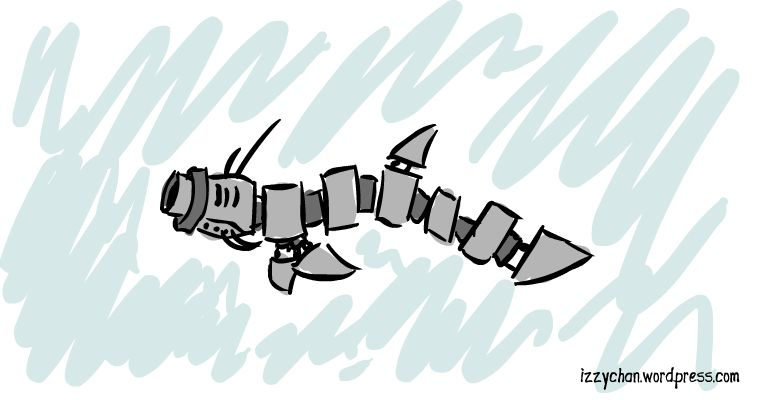 robot fish eel