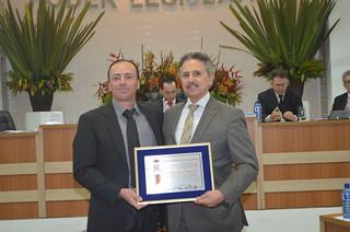 Secretário adjunto recebe o título de Cidadão de Cesário Lange