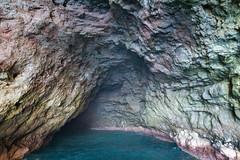 Na Pali Coast cave Kauai, Hawaii