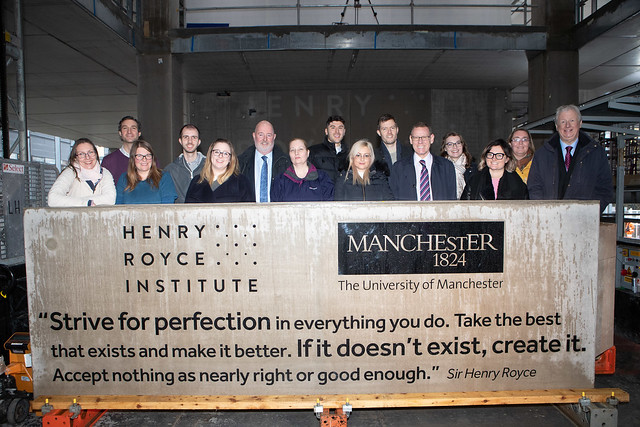 Henry Royce Institute topping-out
