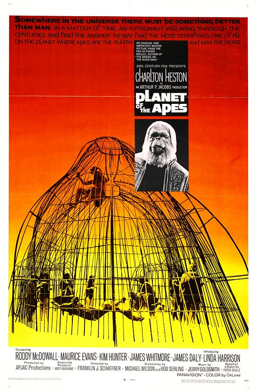 Planet of the Apes - 1968 - Poster 1