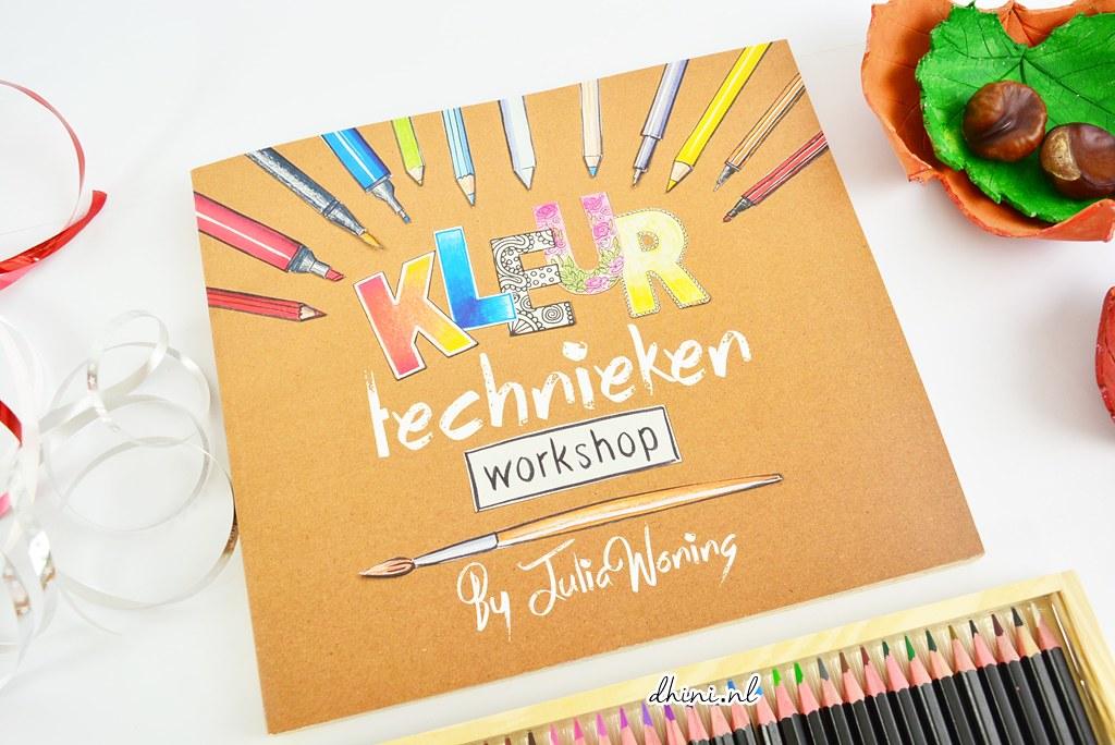 Boek Kleur technieken Workshopp